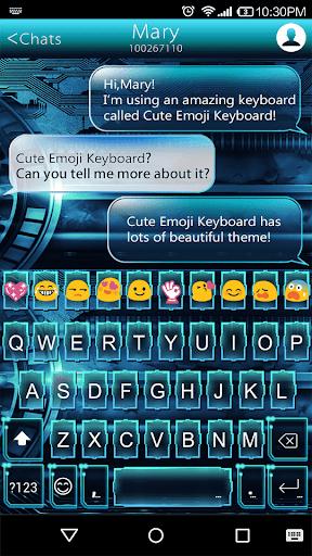 Craft Emoji Keyboard Theme