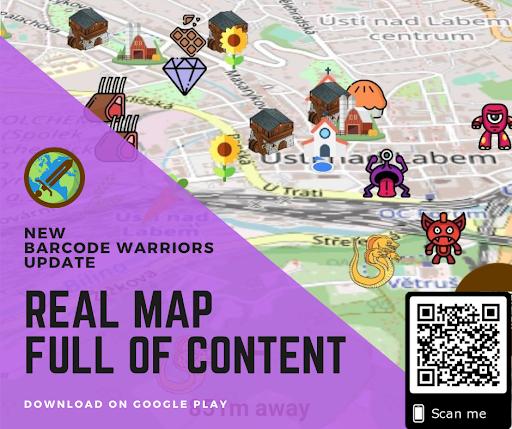 Barcode warriors (Real world RPG) screenshots 3