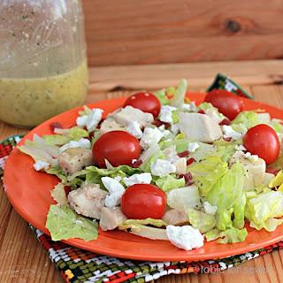 Chicken Cobb Salad with Citrus Basil Vinaigrette