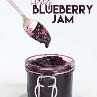 Easy Blueberry Jam.