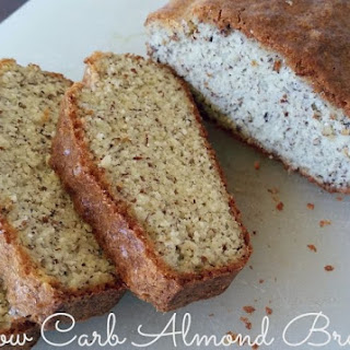 Easy Low Carb Almond Bread.