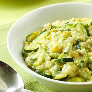Zucchini Chile-Cheddar Mash.