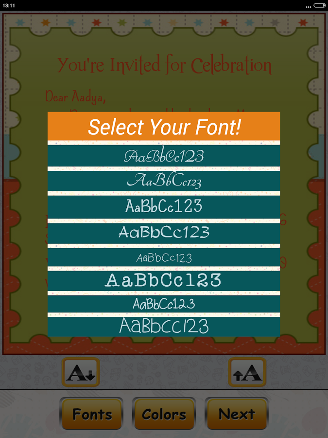 Birthday Invitation Card Maker Android Apps On Google Play - Birthday invitation cards creator