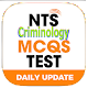 NTS Criminology Test Solved MCQs: Test Preparation Download on Windows