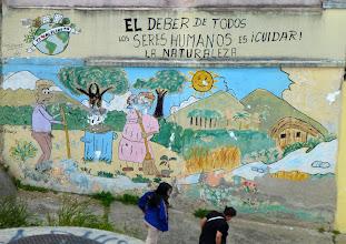Photo: Street scene, Quito