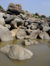 Photo: Rocks by the river.