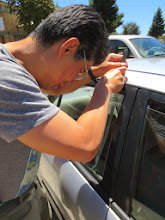 "Photo: One of today's participants locked herself out of her car: in the true spirit of Fixit Clinic camaraderie another participant had a ""Slim Jim"" and went to the parking lot to unlock it..."