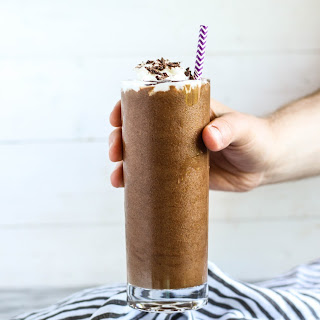 Coffee Chocolate Almond Butter Smoothie.