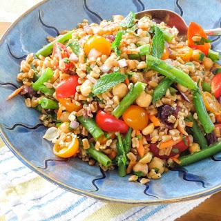 Farro, Tomato and Green Bean Salad Recipe