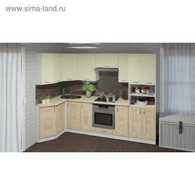 Кухонный гарнитур Камилла гранд прайм 2600*1400