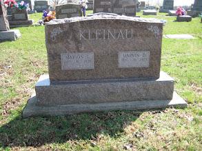 Photo: Pat Hartman says Marvin Kleinau was one of her professors at SIU-C.
