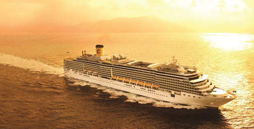 costa-deliziosa-at-sea.jpg - At 958 feet long and 106 feet wide, Costa Deliziosa features a hybrid design, taking the best elements from Costa's Vista and Spirit class  ships.