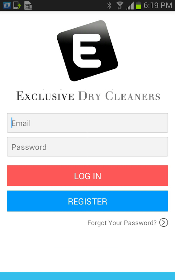 Exclusive Dry Cleaners- screenshot