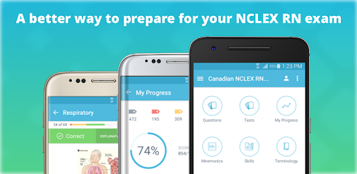 Two-Time Mobile App of the Year NCLEX Mastery. Helps you pass in 75 questions!