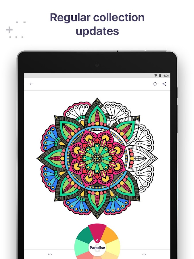 Coloring Book For Me Mandala Screenshot
