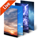 Real Time Weather Live Wallpaper 3D Icon