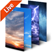 Real Time Weather Live Wallpaper 3D