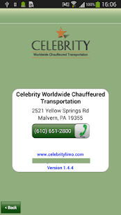 Celebrity Limousine Booking- screenshot thumbnail