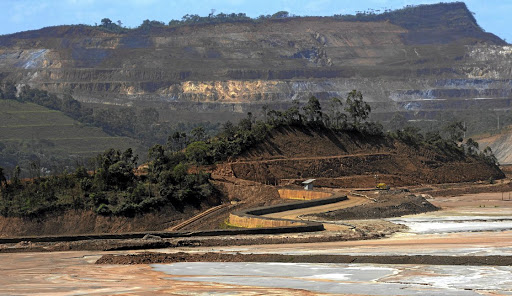 This April 2016 file photo shows the Samarco mine, owned by Vale and BHP Billiton, in Mariana, Brazil. Picture: REUTERS/WASHINGTON ALVES