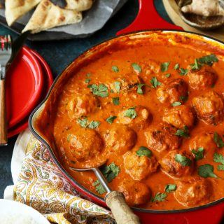 Chicken Meatball Tikka Masala.