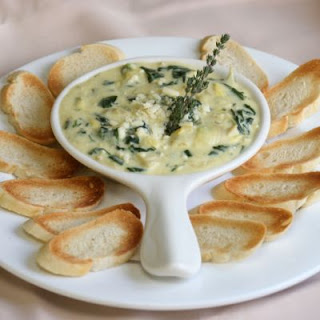 Cold Spinach and Artichoke Dip.
