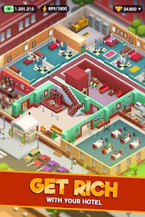 Hotel Empire Tycoon MOD APK 1.7.4 (Unlimited Money) 2