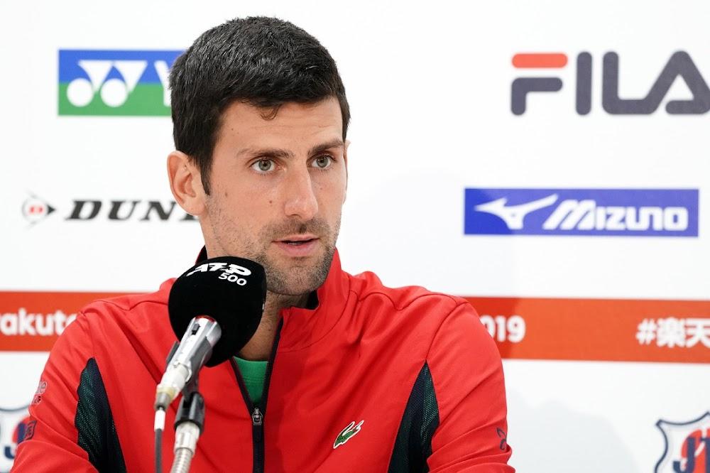 Djokovic keer terug na die oorwinning in Japan ná die Amerikaanse Ope-besering