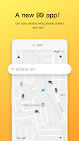 screenshot of 99 - Private Driver and Taxi