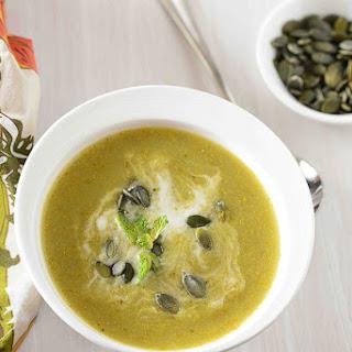 Za'ttar Roasted Broccoli Cheese Soup | Classic Winter Soups