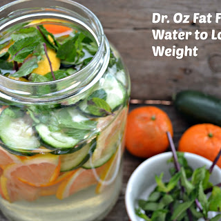 Dr. Oz Fat Flush Drink To Flush Fat and Lose Weight.