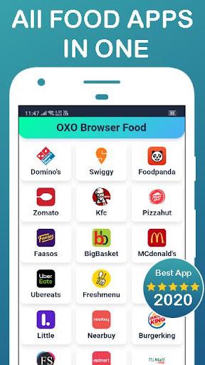 All in One Food Ordering App - Order Online Food ss2