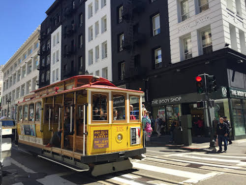 West Coast USA Road Trip Itinerary // San Francisco Sightseeing by Trolley