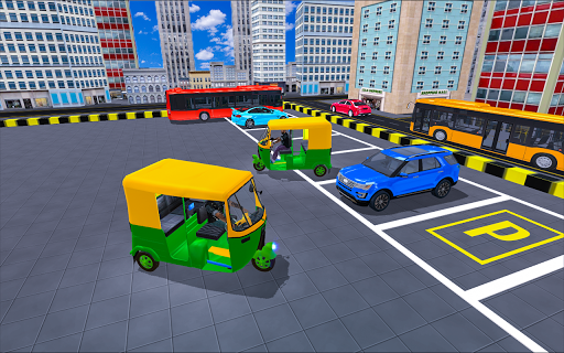 Rickshaw Driving Adventure u2013 Tuk Tuk Parking Game apkmind screenshots 2