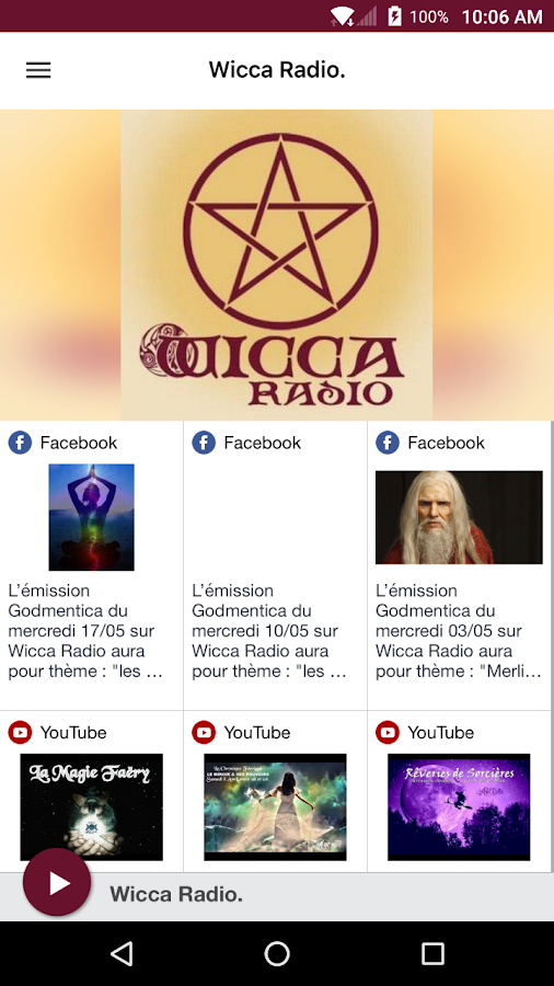 Wicca Radio- screenshot