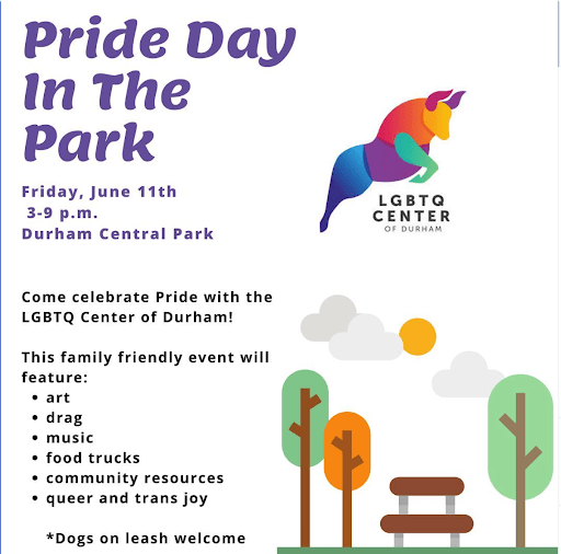 Pride Day in the Park at Durham Central Park