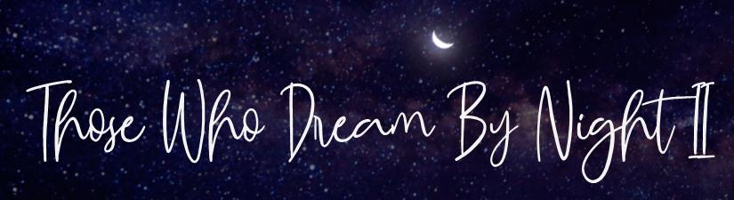 Those wo dream by night II