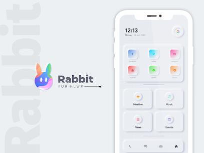 Rabbit KLWP Presets Paid 2.0 Latest Mod APK Free Download 1