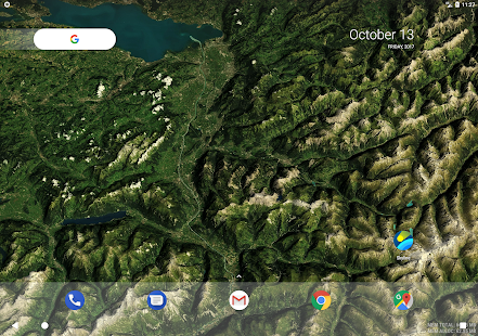 Skyline - Live Wallpaper With Global 3D Terrain Screenshot
