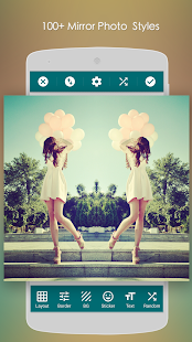 Mirror Photo:Editor&Collage – Miniaturansicht des Screenshots