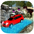 Dinosaur Games 🚗Survival Offroad Jeep Drive. icon