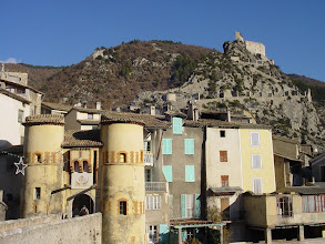 Photo: The village was fortified more thoroughly around 1542, when King François 1st declared Entrevaux a Royal Town in the Kingdom of France.