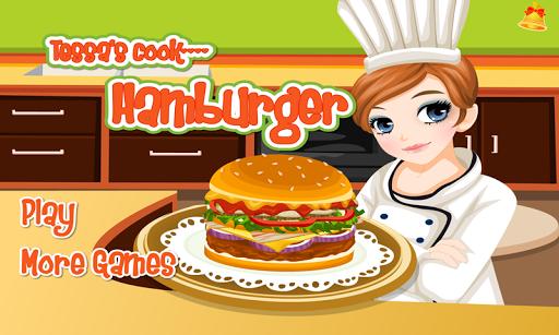 Tessa's Hamburger cooking game