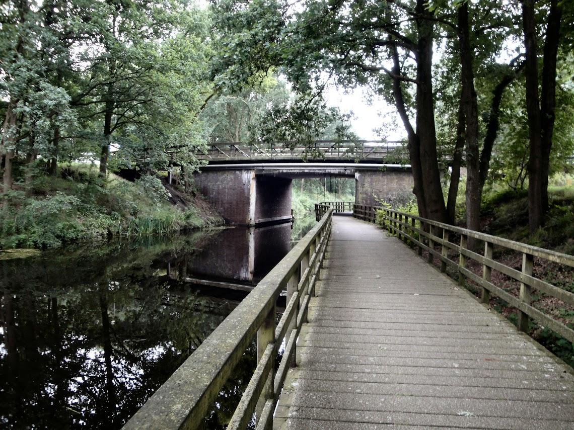 Het kanaal van Deurne nabij Meijel