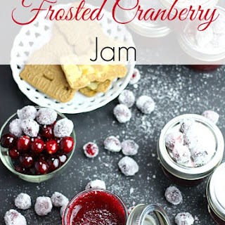 Frosted Cranberry Jam.