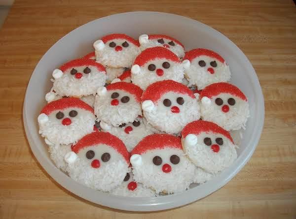 Santa Claus Cookies Recipe Just A Pinch Recipes
