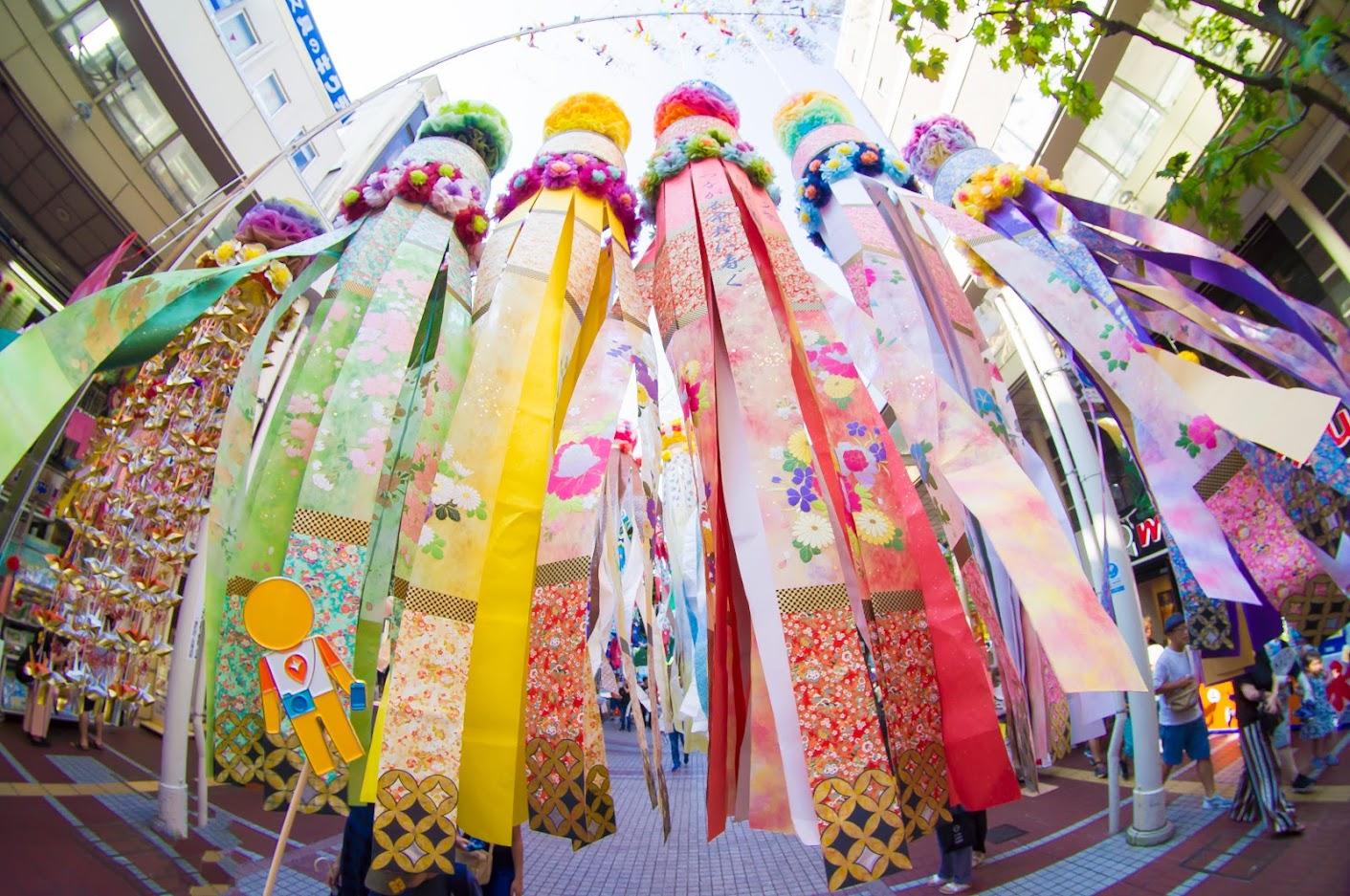Một lễ hội nghệ thuật lớn của Nhật Bản Sendai Tanabata 2