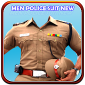 Men Police Suit New