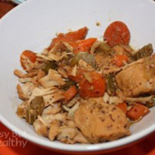 Slow Cooker Honey Mustard Turkey Stew