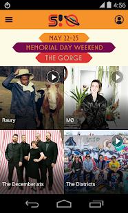 Sasquatch! Festival 2015 - screenshot thumbnail