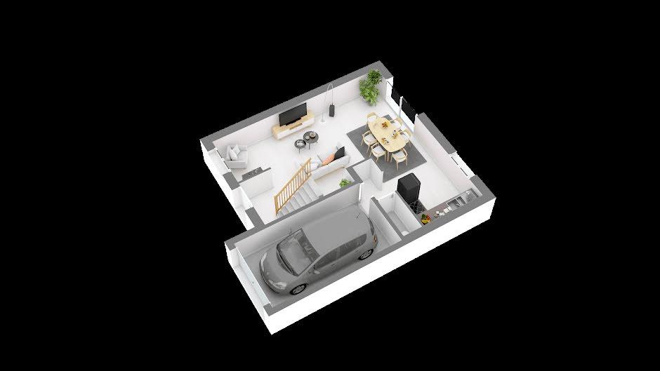 Vente maison 5 pièces 85.58 m² à Flagy (77940), 209 000 €